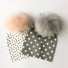 Double Faux Fur Pom Pom Hat Baby Price: 10.00 & FREE Shipping #hashtag4