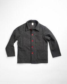 Le Laboureur Wool Work Jacket.