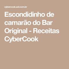 Escondidinho de camarão do Bar Original - Receitas CyberCook