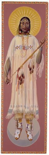 White Buffalo Woman by John Giulian