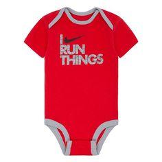 Baby Boy Nike Bodysuit, Brt Red