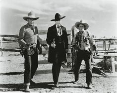 No one messed with these hombres (above, from left): Buck Jones, Tim ...