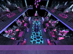 KrystaL Nightclub, a fantasy-themed nightclub where your sims can dance, mingle or just chill out. Found in TSR Category 'Sims 4 Community Lots' Sims 2 House, Sims 4 House Building, Sims 4 House Design, Lotes The Sims 4, Sims New, Interior Design Lounge, Sims Freeplay Houses, Nightclub Design, Sims 4 Game Mods