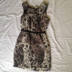 Cute Dress Small Size Color Gray And Black