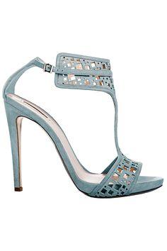 Women Shoes Daily — Giorgio Armani - Women's Shoes - 2013 Women's Shoes, Mode Shoes, Zapatos Shoes, New Shoes, Me Too Shoes, Shoe Boots, Calf Boots, Flat Shoes, Christian Louboutin