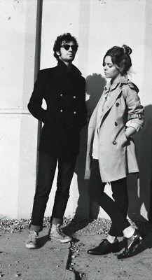 Fabrizio Moretti and Binki Shapiro