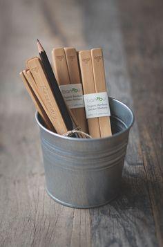Reusable bamboo garden planting markers!