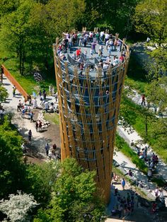 Epic Jueberg Tower by Birk Heilmeyer Architekten