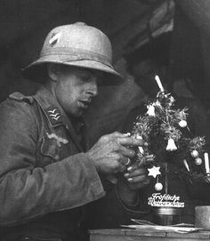 """""""Fröhliche Weihnachten"""" from your friends in the Luftwaffe."""