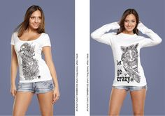 #handmade #shirt #cute #seahorse #raccoon #love #girl #black #white #decor #Russia #picture #pen #ink #inkart #print #art #print #design #mypics #tatoo #style juliagrad.tumblr....