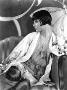 Silent film star, Louise Brooks was an iconic actress during the 1920s.