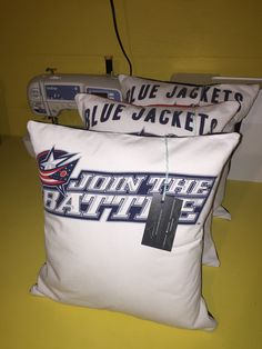 New batch of CBJ pillows available! They are definitely the most popular!
