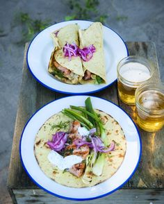 Viikon 29 ruokalista - kepeitä kalaherkkuja, mansikka-juustosalaattia ja tortilloja – Ruoka.fi