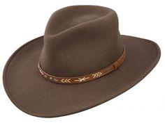 Santa Fe cowboy hat by Stetson