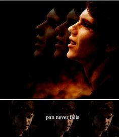 Pan never fails - Peter Pan fan art - by commanderoswin on Tumblr