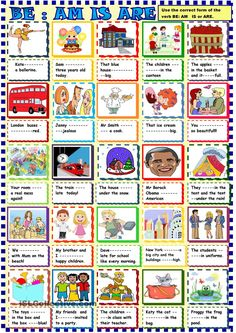 Be : Am is are for young learners. ESL worksheet of the day by sylviepieddaignel. March 29, 2015
