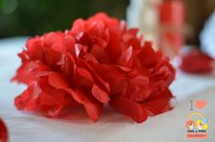 pom-pom-nunta-rosu Crown, Floral, Corona, Flowers, Crowns, Flower, Crown Royal Bags