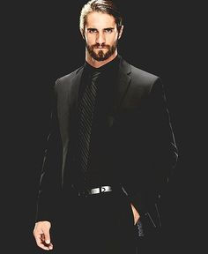 Seth Rollins in a suite so cute