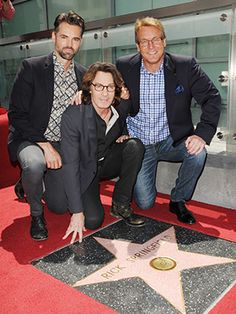 Jason Thompson, Rick Springfield and Doug Davidson