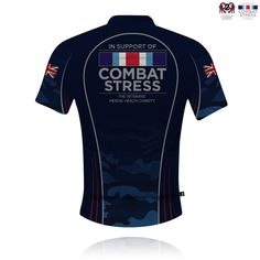 R2R/Combat Stress Cycle Jersey 2017 - Knight Sportswear - 2