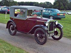 27 Austin Seven B Type Coupe (1930)
