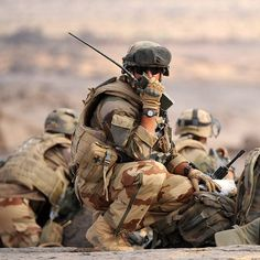 French soldiers operating in northern Mali.