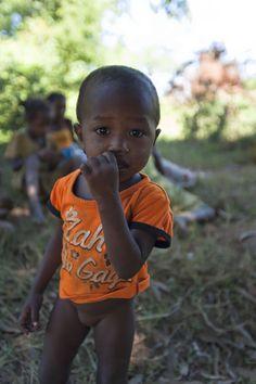 Mada's child Near Tsiribihina river