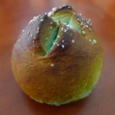 Alien xenomorph pretzel bread eggs.  Halloween here we come.