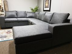 WAS R 14495 NOW R 9995   Flexible and artificial fabric used with raw fibres or other materials to produce long strands. It is manufactured with specification and is suitable for both commercial and domestic applications.  High resistance to abrasion and easy cleaning. Lounge Suites, Sofa, Couch, Strands, Commercial, Corner, Cleaning, Easy, Fabric