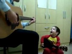 Don't let me down - The Beatles / Kid Cover  This is the coolest kid ever!
