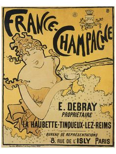 Lithographic poster by Pierre Bonnard France-Champagne, Paris. Vintage French Posters, Pub Vintage, French Vintage, French Art, Vintage Style, Vintage Food Posters, Vintage Art Prints, French Kiss, French Chic
