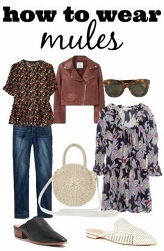 How to Wear Mules Most Popular Shoes, Cropped Leather Jacket, Boho Style Dresses, Latest Shoe Trends, Mom Outfits, Summer Outfits, Star Fashion, Women's Fashion, Matching Outfits