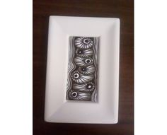 Framed art zentangle inspired art in black and by evascreation