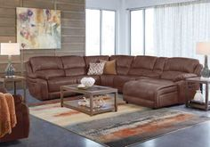 Cindy Crawford Home Breckenridge Hills Mahogany 7 Pc Reclining Sectional Living Room  . $2,449.99.  Find affordable Living Room Sets for your home that will complement the rest of your furniture. #iSofa #roomstogo