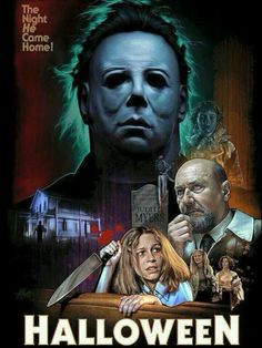 "~80"" s Halloween Trilogy ~† Micheal Meyers Horror ~"