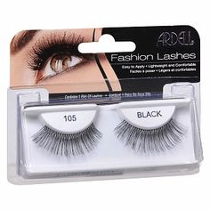Buy Ardell Fashion Lashes, Black, Style 105 with free shipping on orders over $35, low prices & product reviews | drugstore.com