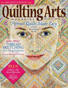 Dynamic Fabric Art Portraits Video Download | Quilt, Illusions and Art : quilting daily - Adamdwight.com