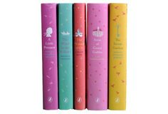 set of 5 girls books (ages 8-12)