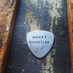 Click here to personalize your own hand stamped guitar pick: https://www.etsy.com/listing/179645856/guitar-pick-rock-star-gifts-band-member?ref=shop_home_active_12  $6