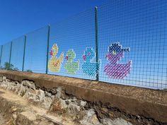 Crochê urbano - Street Art 8