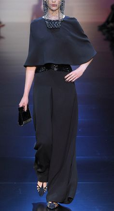 Armani Prive, haute couture 2012 Love the 'simple' fabric and style of Armani