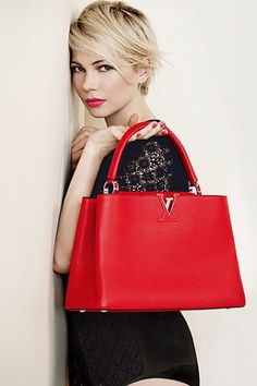 51f050ca2d32 33-year-old Michelle presented new models of handbags famous fashion house  Capucines
