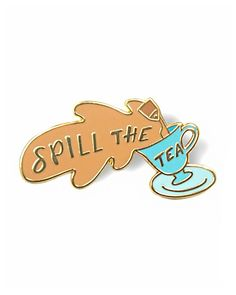 You know this bitch got T to spill—If that bitch is you, then this pin is yours.Hard enamel pinDouble black rubber pinbacks for supportComes on a hand-stamped backing cardMeasurements: approx. Jacket Pins, Do It Yourself Fashion, Doja Cat, Cool Pins, Pin And Patches, Disney Pins, Pin Badges, Lapel Pins, Pin Collection