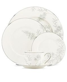 Lenox Dinnerware, Wisteria Collection