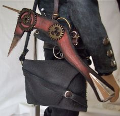 Check out Steampunk Dude's gear.