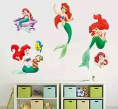 Inspired by The Little Mermaid Wall Decal Sticker Daddy/'s Princess