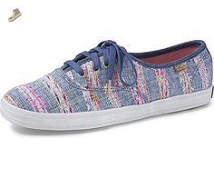 Keds Womens X Malhia Kent Champion Kristopher Chambray Multi Sneaker - 6 - Keds sneakers for women (*Amazon Partner-Link)