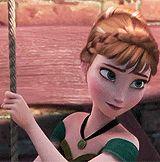 Frozen~Anna doesn't it look like she is saying frozen!?