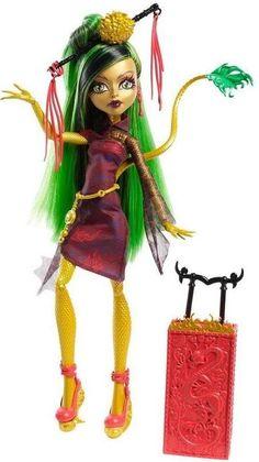 Monster High Scaris Doll Jinafire Long