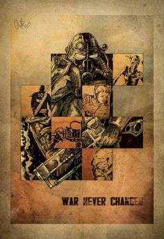 Fallout 3 - amazing game, sorry is that, mediocre on the aesthetic scale, high replay value Fallout 4 Poster, Fallout Facts, Fallout Fan Art, Fallout Game, Fallout New Vegas, Fallout Vault, Fallout Wallpaper, 4 Wallpaper, Video Game Art